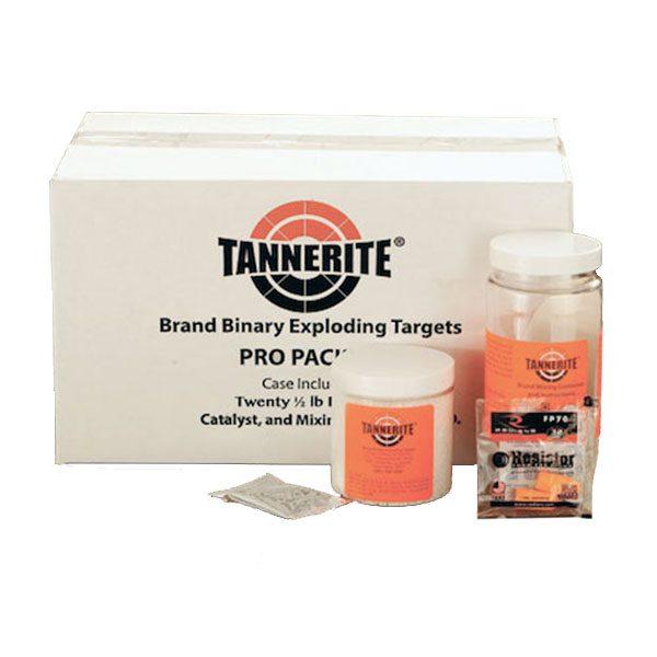 Twenty 1/2lb. Tannerite targets