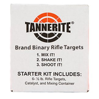 Six 1/2lb. Tannerite targets