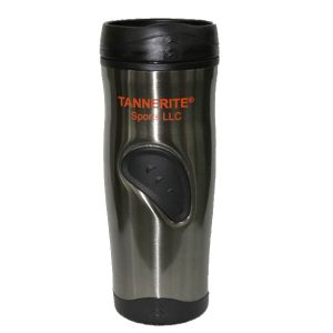 Tannerite travel coffee mug