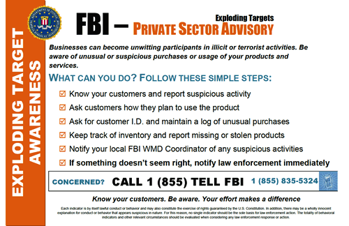 FBI Awareness 2