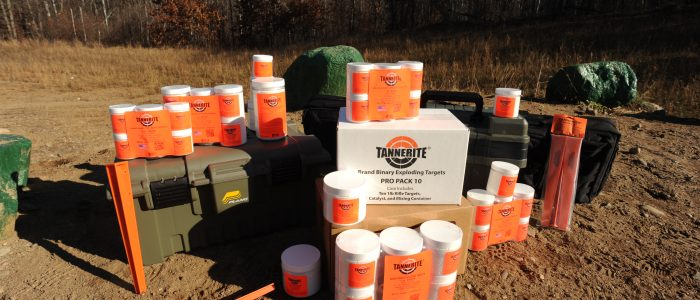 Tannerite targets and accessories