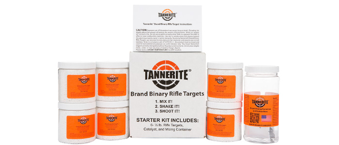 Tannerite six 1/2lb. targets