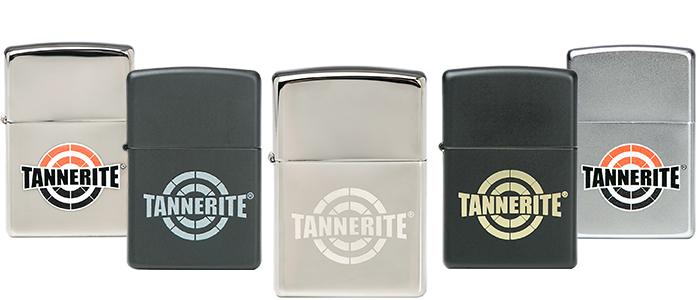 Zippo with Tannerite logo
